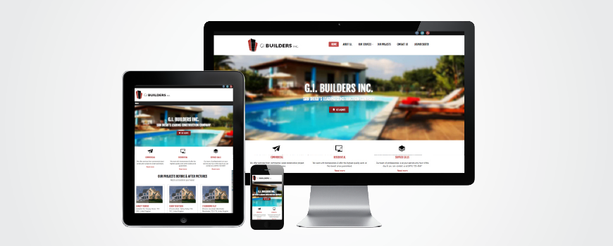 GI Builders Website