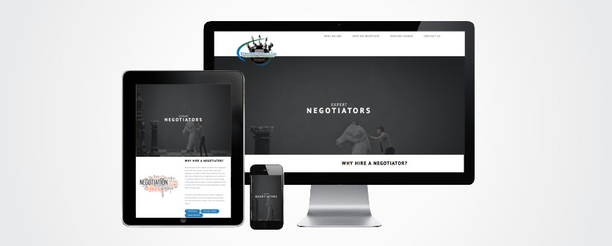 Strategic Negotiator Website